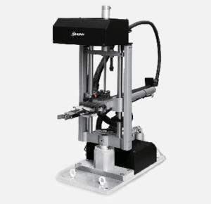 sprue picker for vertical molding machine